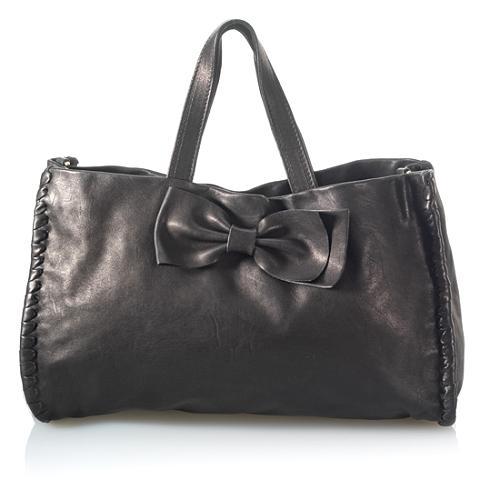 RED Valentino Whipstitch Top Handle Handbag