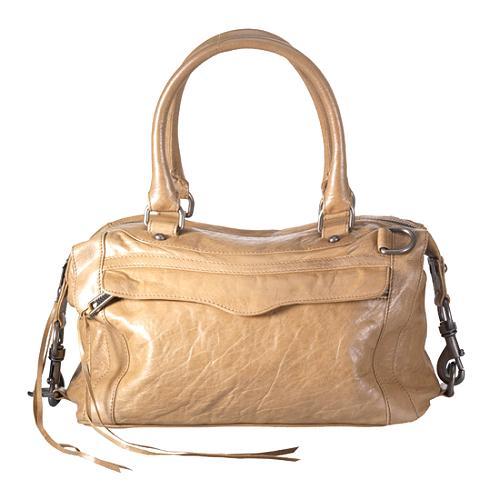 Rebecca Minkoff Morning After Mini Satchel Handbag With Strap