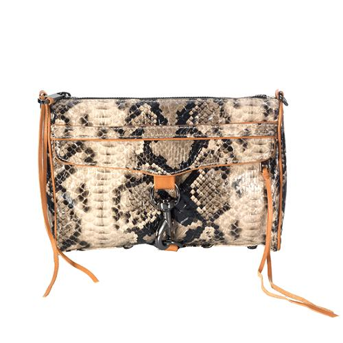 Rebecca Minkoff Python Passion Morning After Convertible Clutch
