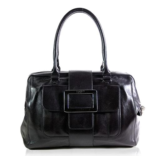 Roger Vivier Buckle Doctor Satchel Handbag