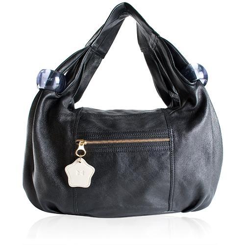 SEE BY Chloe Ring Around Leather Handbag