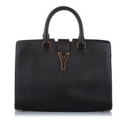 Saint Laurent Cabas Chyc Leather Satchel