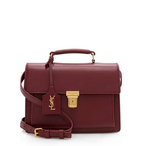 Saint Laurent Calfskin High School Medium Shoulder Bag