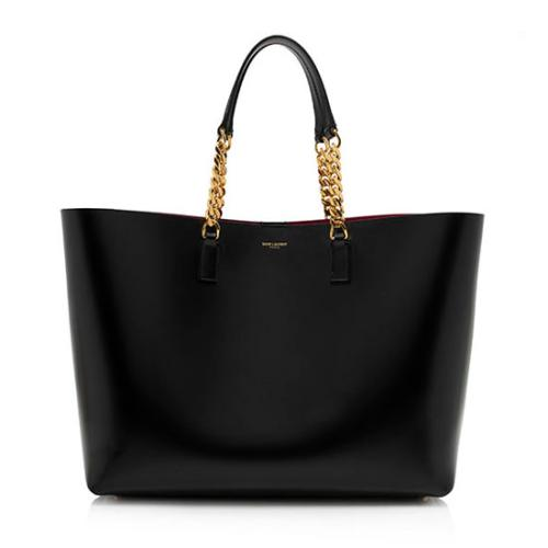 Saint Laurent Calfskin Large Paris Shopping Tote