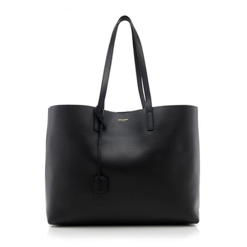 Saint Laurent Calfskin Large Shopping Tote