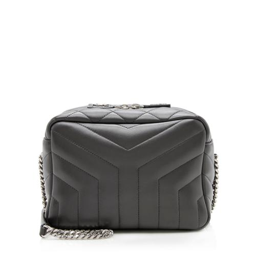 Saint Laurent Calfskin Matelasse LouLou Chain Camera Bag