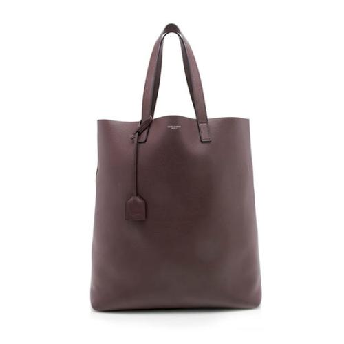 Saint Laurent Calfskin Shopping Tote