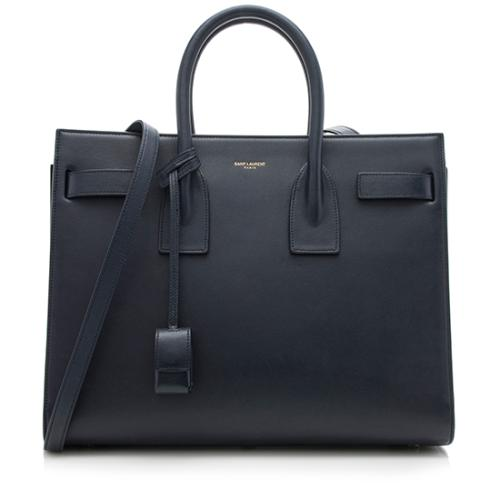 Saint Laurent Calfskin Small Sac De Jour