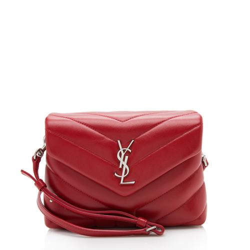 Saint Laurent Matelasse Calfskin LouLou Toy Crossbody Bag