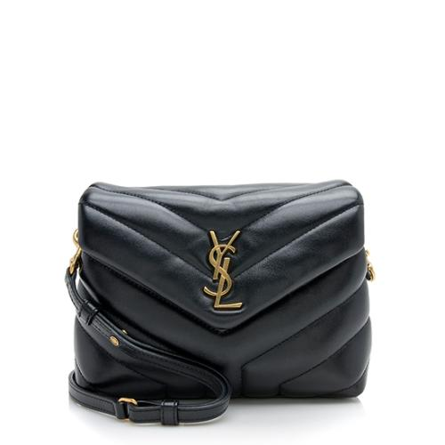 Saint Laurent Calfskin Toy LouLou Crossbody Bag