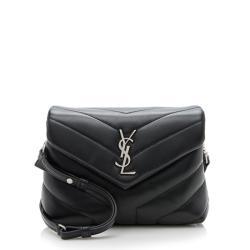 Saint Laurent Matelasse Calfskin LouLou Toy Crossbody Bag