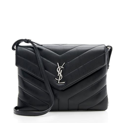 Saint Laurent Calfskin Toy LouLou Wallet On Chain Bag