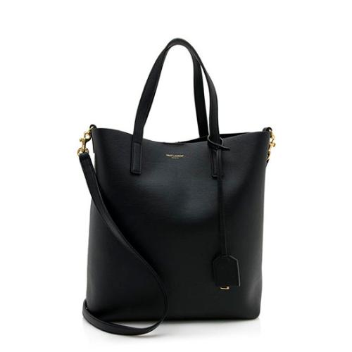 Saint Laurent Calfskin Toy Shopping Tote