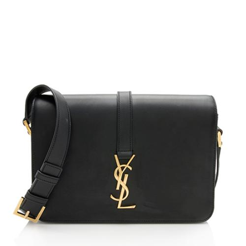 Saint Laurent Calfskin Universite Medium Shoulder Bag
