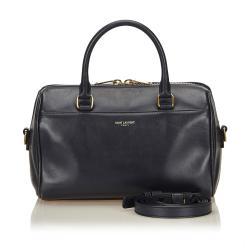 Saint Laurent Calfskin Classic Baby Duffle Bag