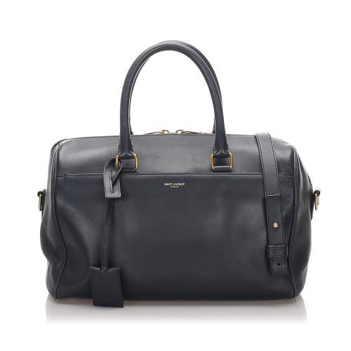 Saint Laurent Leather Classic Baby Duffle Bag