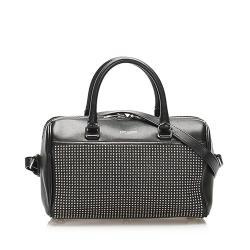 Saint Laurent Classic Baby Leather Duffle Bag