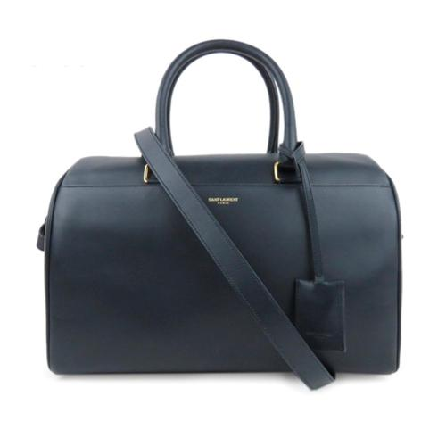 Saint Laurent Leather Classic Duffle 6 Bag