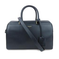 Saint Laurent Leather Classic Duffle 6 Bag
