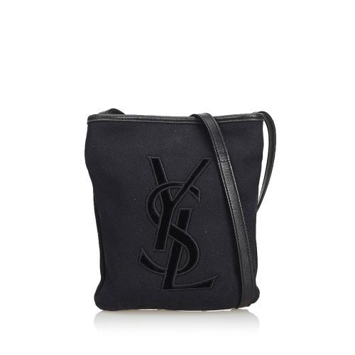 Saint Laurent Cotton Crossbody Bag