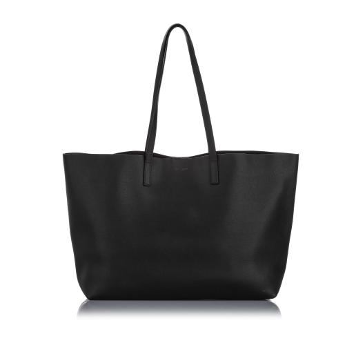 Saint Laurent Leather East West Shopping Tote