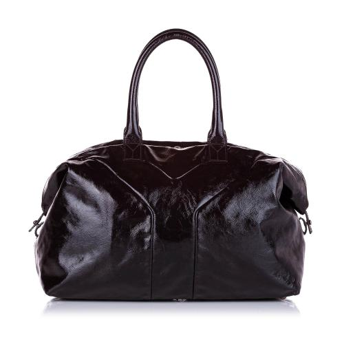 Saint Laurent Easy Y Patent Leather Tote Bag