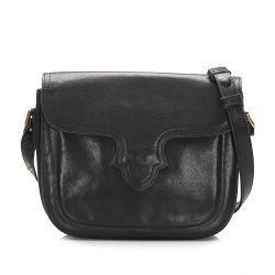 Saint Laurent Embossed Leather Crossbody Bag