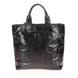 Saint Laurent Embossed Leather Tote