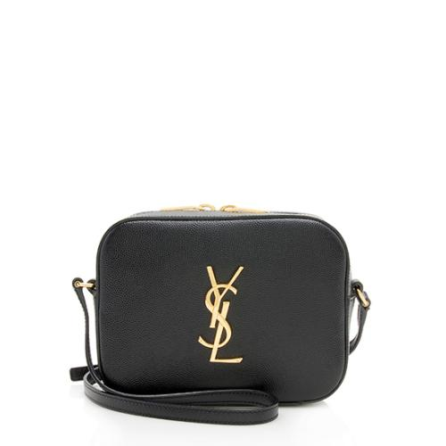 Saint Laurent Grain de Poudre Classic Monogram Small Camera Bag