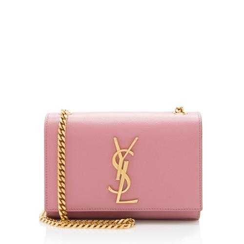 Saint-Laurent-Grain-de-Poudre-Classic-Small-Kate-Chain -Shoulder-Bag 98809 front large 0.jpg db9bfcffa8365