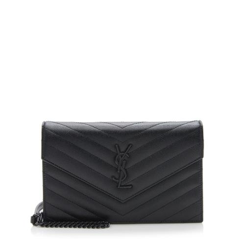 e3e1e35ef0f Saint-Laurent-Grain-de-Poudre-Matelasse-Monogram-Envelope-Chain -Wallet_94951_front_large_3.jpg
