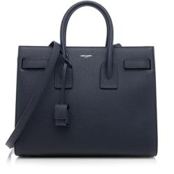Saint Laurent Grained Calfskin Sac De Jour Small Tote