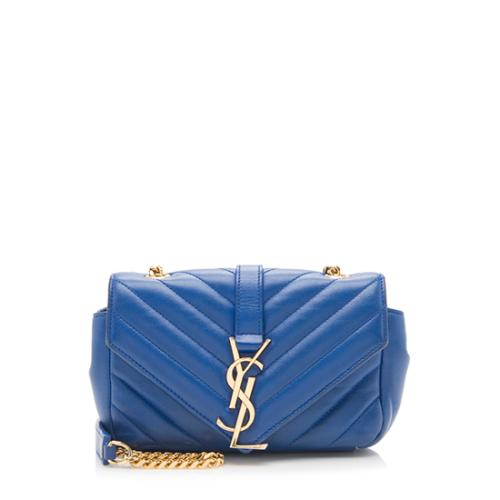 Saint Laurent Lambskin Classic Monogram Baby Crossbody Bag - FINAL SALE