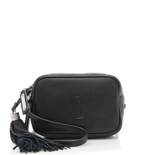 Saint Laurent Lambskin Lou Belt Bag