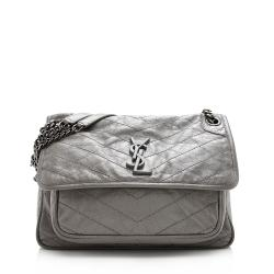 Saint Laurent Lambskin Niki Medium Shoulder Bag
