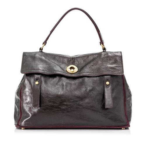 Saint Laurent Large Muse Two Leather Handbag