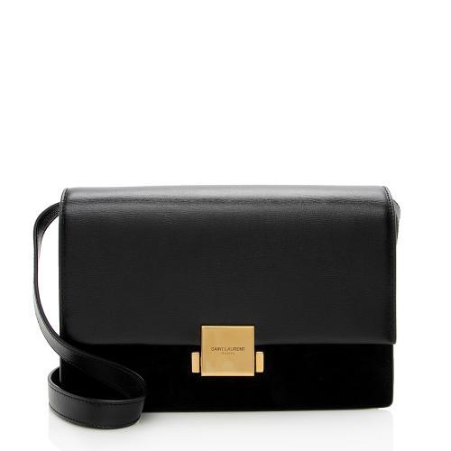 Saint Laurent Leather Bellechasse Medium Shoulder Bag