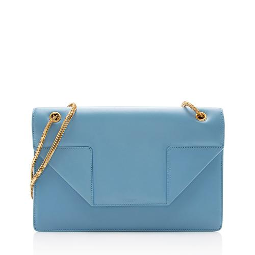 Saint Laurent Leather Betty Medium Flap Bag