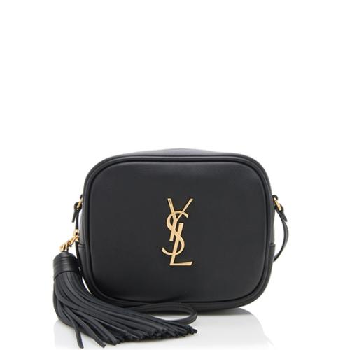 Saint Laurent Leather Blogger Bag