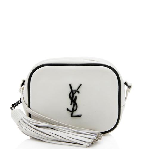 Saint Laurent Leather Blogger Bag
