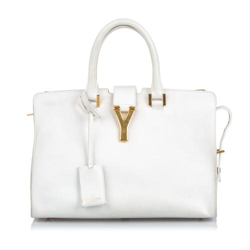 Saint Laurent Leather Cabas Chyc Satchel