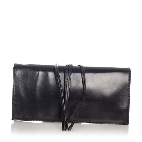 Saint Laurent Leather Clutch Bag