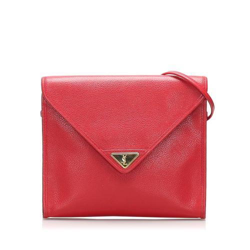 Saint Laurent Leather Crossbody Bag