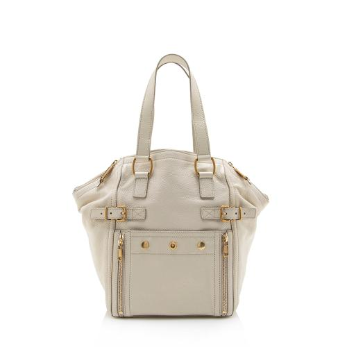 Saint Laurent Leather Downtown Small Tote