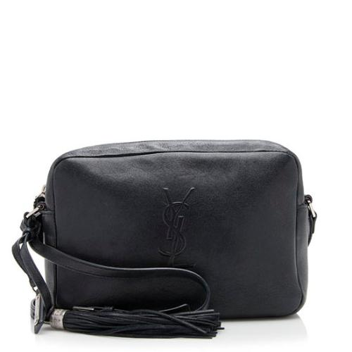 Saint Laurent Leather Lou Small Camera Bag