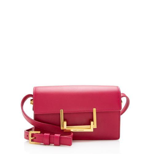 Saint Laurent Leather Lulu Small Shoulder Bag