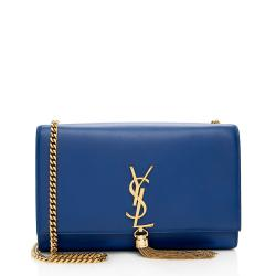 Saint Laurent Leather Monogram Kate Tassel Medium Shoulder Bag