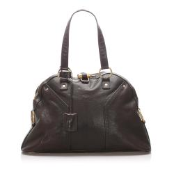 Saint Laurent Leather Muse Handbag