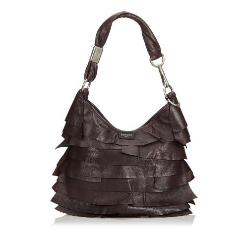 Saint Laurent Leather Saint Tropez Shoulder Bag