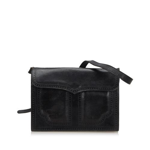 Saint Laurent Leather Shoulder Bag